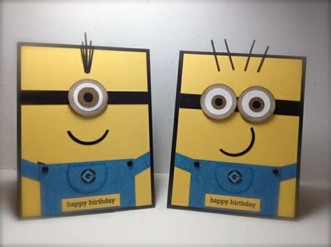 Minion Gift Card - minions kaarten voor kinderen children s cards pinterest minion card minions