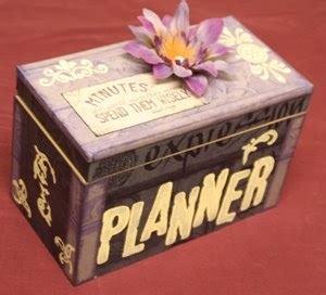 5x8 card box template debduzscrappin project tutorial quot planner quot box