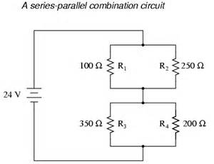 what is a series parallel circuit series parallel combination circuits electronics textbook