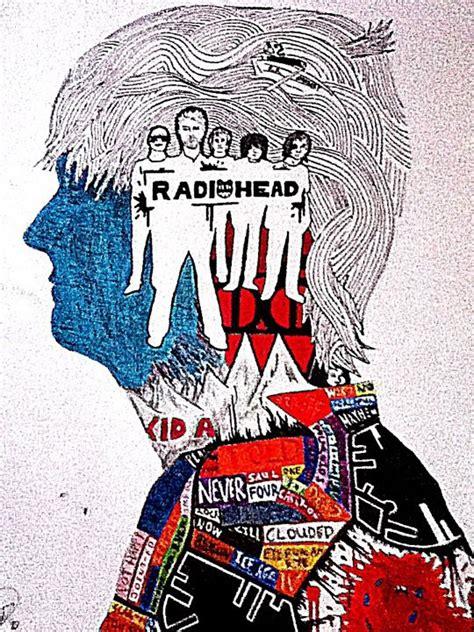 radiohead collage by doctoregular on deviantart