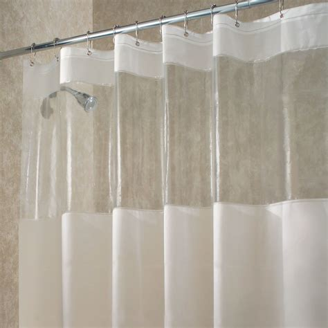 clear shower curtains with designs inter design shower stall curtain hitchcock clear vinyl eva