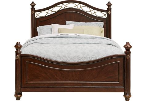 rooms to go beds for laurel view cherry 3 pc king poster bed beds wood