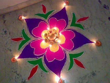 Handmade Rangoli Designs - 9 best handmade rangoli designs and patterns