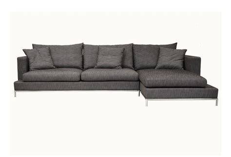 modern small sectional sofa modern bonded leather