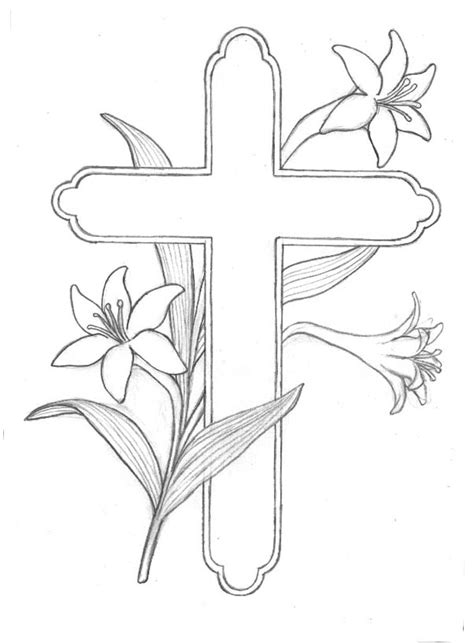 5 printable cross coloring pages for kids cool christian