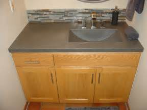 Custom Vanity Tops Mn Bathroom Concrete Vanity Sink Portfolio Metro