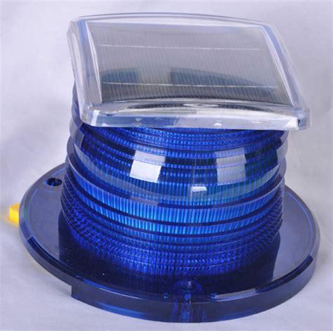 solar navigation lights marine solar marine navigation light blue