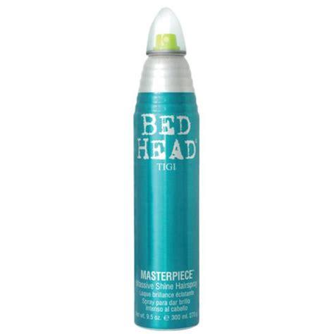 bed header tigi bed head masterpiece massive shine hairspray 340ml