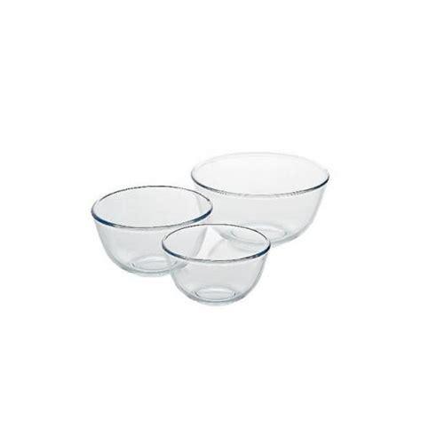 Glass Bowl Vase Asda asda glass 3 mixing bowl set 163 3 asda direct hotukdeals