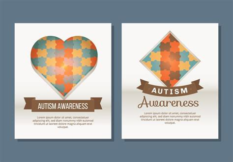 Autism Flyer Template