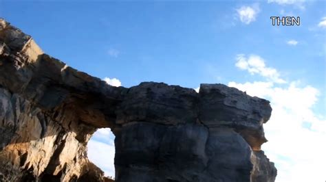 azure window before and after azure window rock before and after collapses youtube