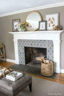 tile around fireplace ideas 25 best ideas about tile around fireplace on