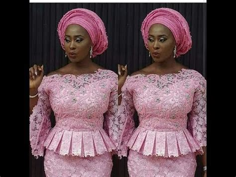 aso ebi lace styles 2017: checkout latest aso ebi lace