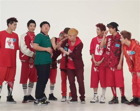 exo weekly idol photo 130708 weekly idol twitter update about exo krayhans