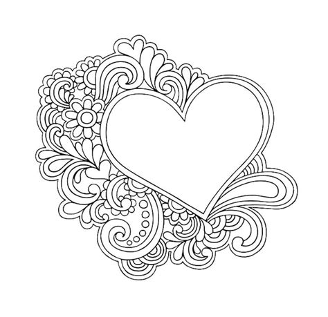 easy doodle coloring pages love doodles doodle coloring pages