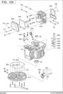 Subaru Ea190v Pressure Washer Subaru Robin Ea190v50030 Parts List And Diagram