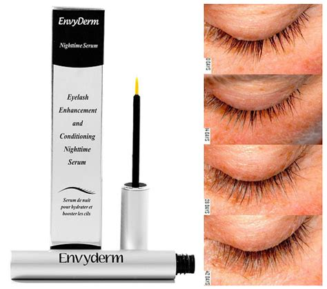Ertos Eyelash Serum Review Daily envyderm eyelash enhancement and conditioning nighttime