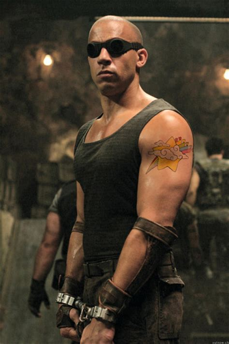 vin diesel s tattoos cool wallpapers vin diesel tattoos