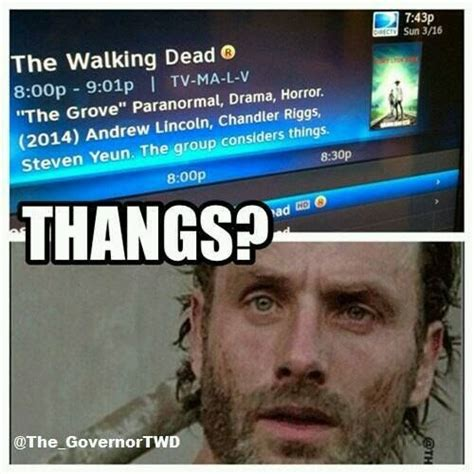 Walking Dead Stuff And Things Meme - pin by lisa weaver on obsesssion pinterest