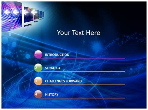 Computer Network Pictures Powerpoint Templates And Backgrounds Computer Network Ppt Templates Free