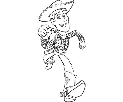 woody template sheriff coloring pages