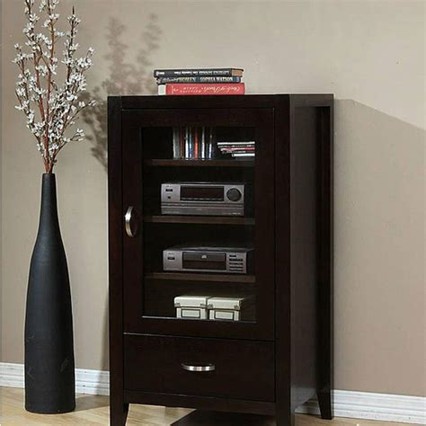 small stereo cabinets with glass doors stereo cabinets with glass doors audio cabinet with
