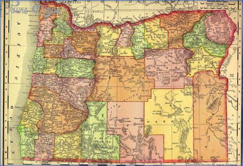 i 5 map of oregon oregon map toursmaps
