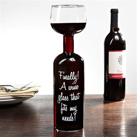 Teh Gelas Botol wine bottle glass take the entire bottle with you the