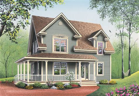 Farmhouse House Plans by Marion Heights Farmhouse Plan 032d 0552 House Plans And More