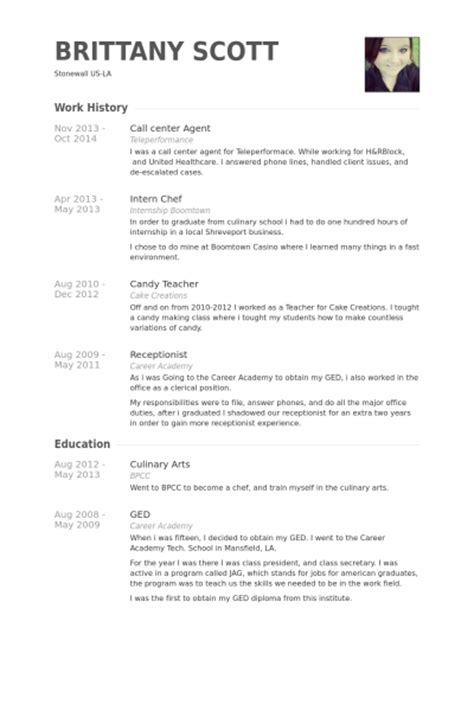 Resume Sample Call Center Agent – Resume Format: Resume Format Sample Call Center