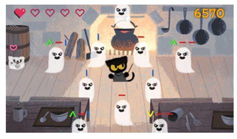 doodle do jogos comemora doodle em formato de jogo