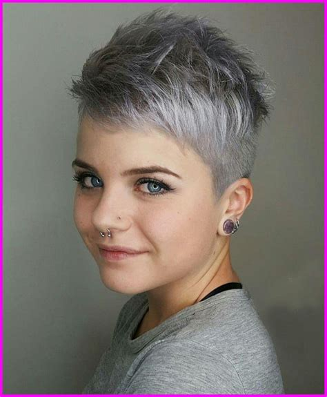 kurzhaarfrisuren damen grau  aktuelle frisuren