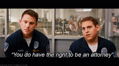 21 Jump Street Memes - channing tatum miranda rights gif find share on giphy