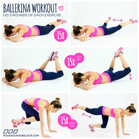 ballerina workout ballerina fitness my fit crew