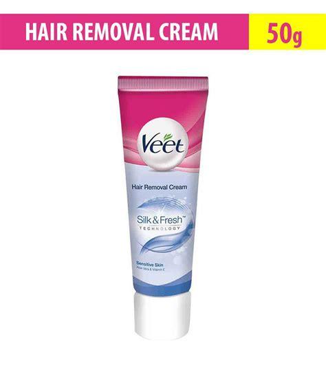 e one hair removal ratting veet silk fresh hair removal cream sensitive skin 60