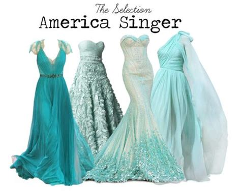 0007587090 the selection the selection america singer dresses the selection series pinterest