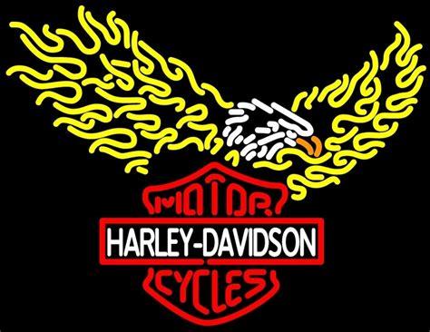 harley davidson neon light harley davidson motorcycle bike neon light sign 30 quot x20