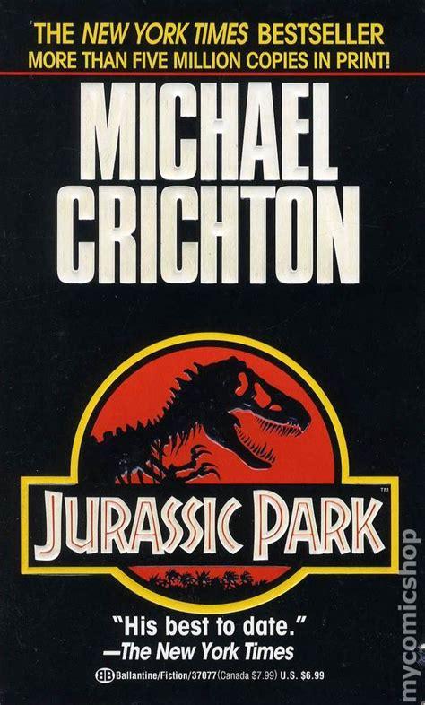 libro jurassic park a novel jurassic park pb 1991 novel comic books