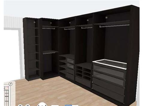 Small Kitchen Design Ideas 2014 by Walk In Closet With Ikea Pax Closet System Ikea