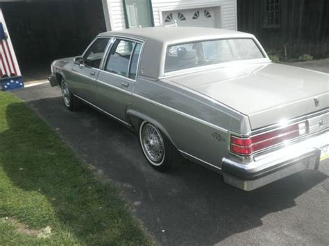 how petrol cars work 1984 buick electra engine control buy used 1984 buick park avenue electra 225 near showroom condition 34 000 original miles in