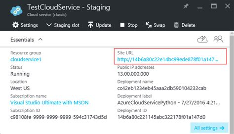 configure  custom domain   cloud services