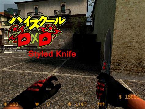 Koneko Cs highschool dxd inspirated knife counter strike source