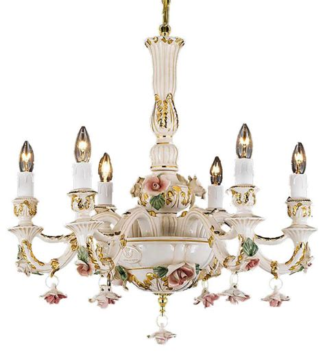 capodimonte chandelier made in italy authentic capodimonte porcelain chandelier