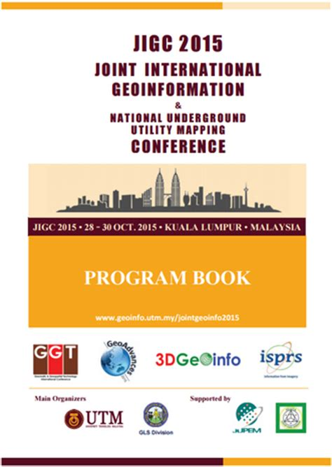 joint international geoinformation conference 2015