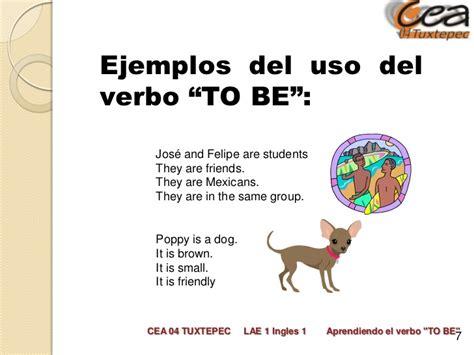 preguntas con verbo to be ejemplos oraciones con verbo to be en presente ejemplos de el