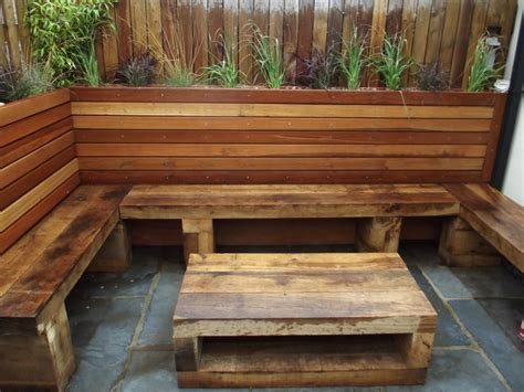 raised garden bed with bench seating raised beds olive garden design and landscaping