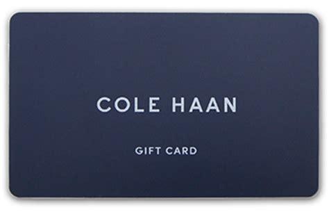 Cole Haan Gift Card - sites colehaan us site