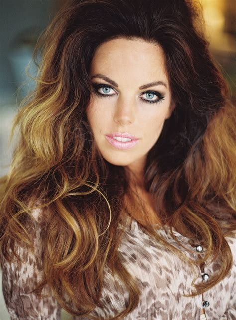 color hairstyles for brunettes long glam wavy hair color ombre brunette highlights smokey