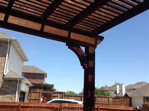 single post pergola single post backyard arbor pergola in frisco hundt patio covers and decks