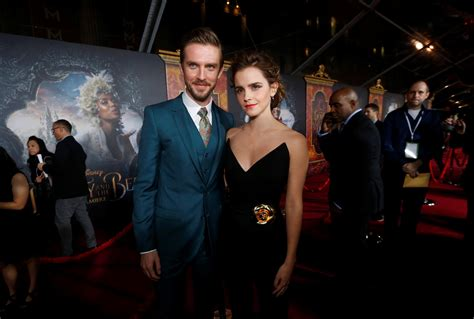 emma watson and dan stevens beauty and the beast here s why emma watson was scared of